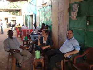 Bernard Rougier, Alice Franck, Khalid El Siddig