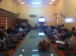 Urban Seminar at the Sharjah Hall
