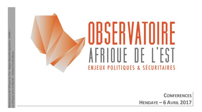 « Observatoire de l'Afrique de l'Est », on April 6th 2017 in Hendaya (France)